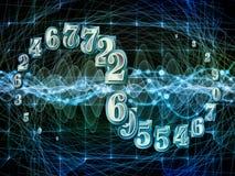 Выдвижение номеров Стоковое Изображение RF