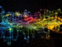 Выдвижение передач данных Стоковое Изображение