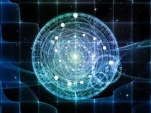 Выдвижение священной геометрии Стоковое Фото