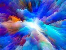Выдвижение сюрреалистической краски Стоковые Фото