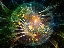 Выдвижение физической структуры Стоковые Изображения