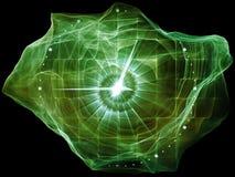 Выдвижение частицы разума Стоковые Фотографии RF