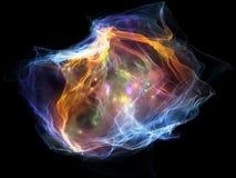 Выдвижение частицы разума Стоковое Изображение