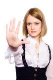 выдвинутая рука Стоковые Фотографии RF