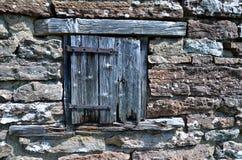 Выдержанная дверь Стоковая Фотография