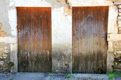 Выдержанная дверь Стоковые Изображения