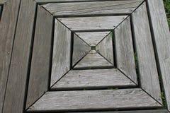 Выдержанная деревянная квадратная предпосылка текстуры стоковые фото