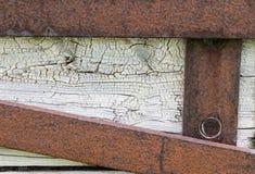 Выдержанная деревянная структура Стоковое фото RF