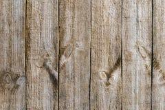 Выдержанная деревянная текстура стены Стоковые Изображения RF