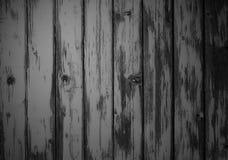 Выдержанная серая предпосылка деревянной доски Стоковая Фотография