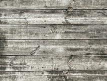 Выдержанная серым цветом предпосылка текстуры деревянных доск Стоковые Фото
