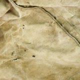 Выдержанная старая бледная ая-зелен предпосылка ткани ловушки Стоковая Фотография