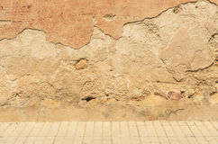 Выдержанная старая каменная кладка Стоковое Фото