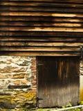 Выдержанный амбар в Вермонте Стоковое фото RF