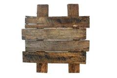 Выдержанный деревянный знак (1) Стоковое Фото