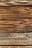 Выдержанный деревянный конец предпосылки вверх Стоковое Изображение RF