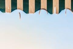 Выдержанный тент Стоковое Изображение RF