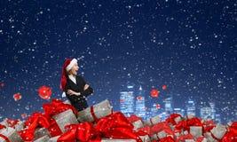 Вы подготавливаете для рождества Мультимедиа Стоковые Фото