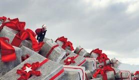 Вы подготавливаете для рождества Мультимедиа Мультимедиа Стоковое фото RF