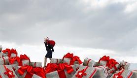 Вы подготавливаете для рождества Мультимедиа Стоковые Изображения RF