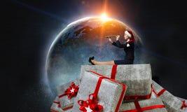 Вы подготавливаете для рождества Мультимедиа Стоковые Изображения