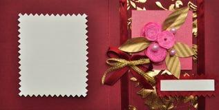 Конструкция карточки Стоковая Фотография RF