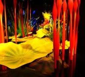 Выдувное стекло в абстрактных формах Стоковая Фотография RF