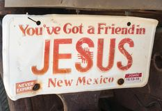 Вы ` ve получили друга в Иисусе Стоковые Фото
