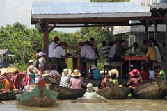 вьетнамец Камбоджи попрошайки Стоковое фото RF