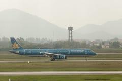 Вьетнамская авиалиния Стоковое Фото