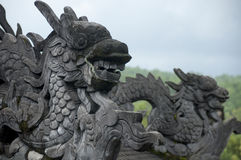 Вьетнам - оттенок - имперская усыпальница Khai Dinh стоковое изображение rf