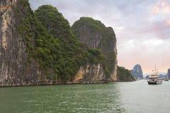 Вьетнам Halong Стоковое Изображение