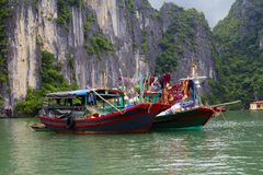 Вьетнам Halong Стоковые Изображения RF