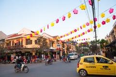 Вьетнам, Hoi древний город стоковые изображения