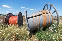 2 вьюрка кабеля Стоковое Фото