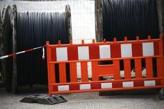 Вьюрки кабеля стоковая фотография rf