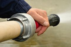 Вьюрок пожарного рукава Стоковая Фотография