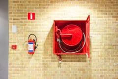 Вьюрок пожарного рукава Стоковые Фото