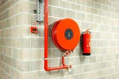 Вьюрок пожарного рукава Стоковое Фото