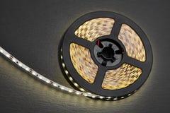 Вьюрок прокладки диода с теплым светом Стоковое Фото
