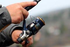 Вьюрок рыбной ловли Стоковая Фотография RF