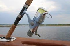 вьюрок рыболовства Стоковое Изображение