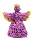 вязание крючком ангела Стоковое Изображение RF
