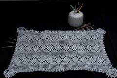 Вязание крючком, итальянское изготовление Италия сделала Стоковая Фотография RF