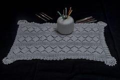Вязание крючком, итальянское изготовление Италия сделала Стоковые Изображения RF