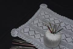 Вязание крючком, итальянское изготовление Италия сделала Стоковое Фото