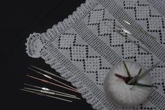 Вязание крючком, итальянское изготовление Италия сделала Стоковые Изображения