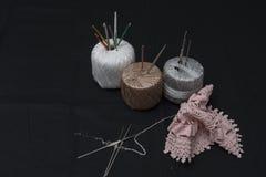 Вязание крючком, итальянское изготовление Италия сделала Стоковое Изображение