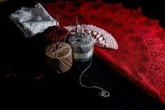 Вязание крючком, итальянское изготовление Италия сделала Стоковое фото RF