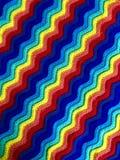 Вязание крючком пульсации радуги Стоковая Фотография RF